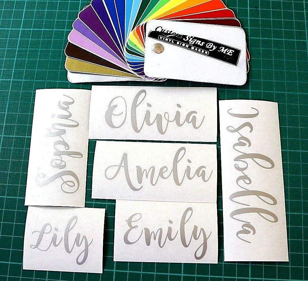 Personalised stickers