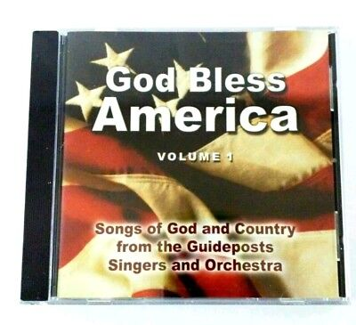 God Bless America 2 CD Disc Set by The Guideposts Singers and Orchestra - God And Halloween