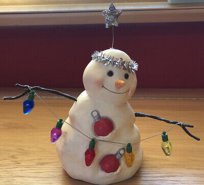 Hallmark Vintage Snowman Decoration Christmas