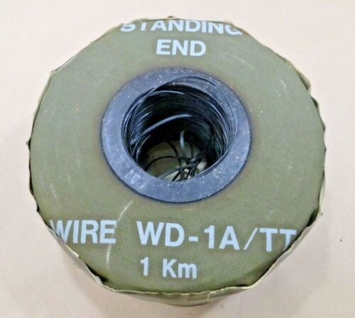 USGI 1 KILOMETER OF WD-1A / TT FIELD WIRE MILITARY TELEPHONE CABLE MX 306 A/G