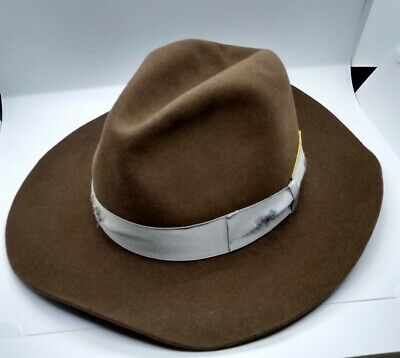Authentic Nick Fouquet X Borsalino Beaver Fur Felt Fedora Hat