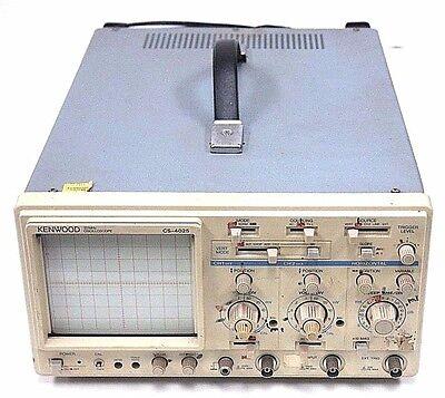 Kenwood Cs-4025 20mhz Oscilloscope Cs4025 5060hz 29w