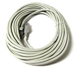 30-FT-CAT5-CAT5E-Network-LAN-Ethernet-Internet-wt-Cable