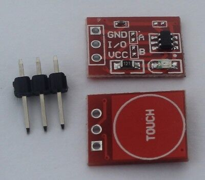 1pcs Ttp223 2.5-5.5v Capacitive Touch Button Module For Arduino Rpi Usa Ship