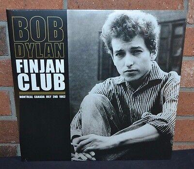 Bob Dylan   Finjan Club 1962  Ltd Import 180 Gram 2Xlp Black Vinyl Gatefold New