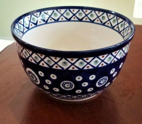 Polish Pottery Boleslawiec  Mixing Bowl Mint