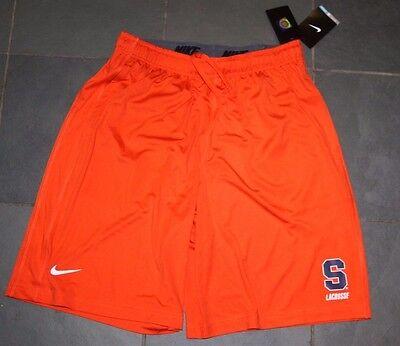 Nwt Nike Dri Fit Fly Syracuse Orange Lacrosse Shorts Large