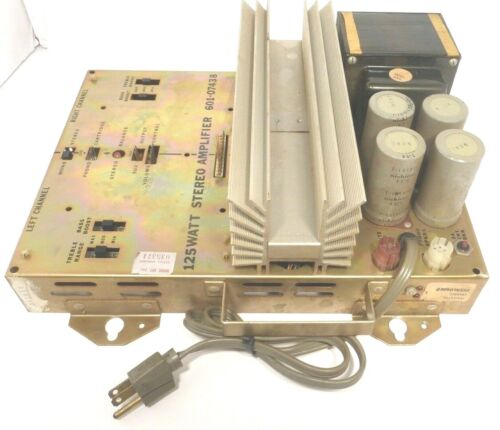 ROWE R83 part:  Tested / Working 601-07438 STEREO AMPLIFIER