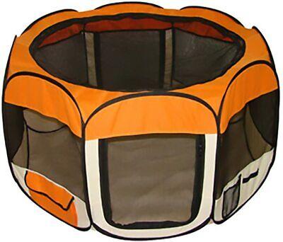 BestPet Small Pet Dog Cat Tent Playpen Exercise Play Pen Soft Crate Dog Supplies