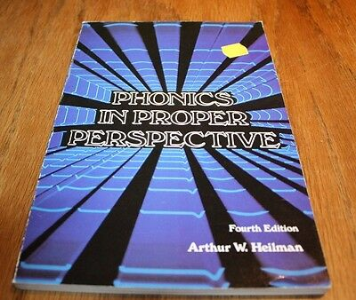 Phonics In Proper Perspective 4Th Edition