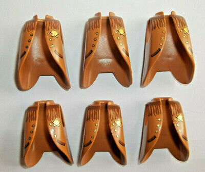 Playmobil,LONG WESTERN COATS,DUSTERS,SHERIFF BADGE,LOT OF 6 - Sheriff Duster