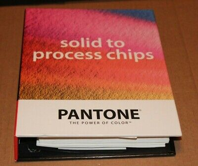 Pantone Process Color Simulator 1000 Solid To Process Chips