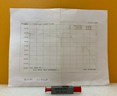 Microwave Semiconductor Corp Msc Mc65229 200 Mhz To 11 Ghz Noise Source. New
