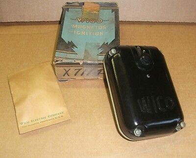 New Vintage Wico Magneto Distributor Cap Cover X7114