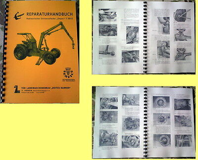 Reparaturhandbuch T157 Empor T 157 no T174 T 174 T-174 Fortschritt