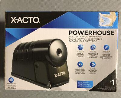 X-acto Powerhouse Electric Pencil Sharpener Black 1799t