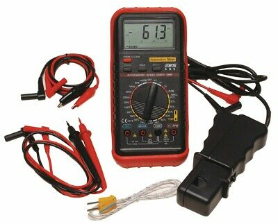 Deluxe Automotive Meter Es 585 Brand New Electric Rpm Temp Dwell
