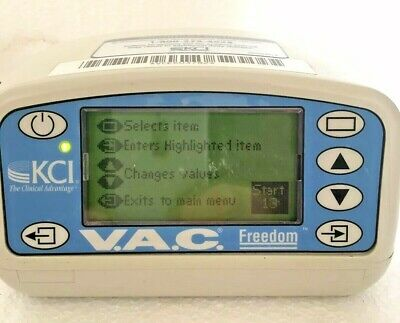 Kci V.a.c. Freedom 60050 Negative Pressure Wound Therapy With Carrier Case