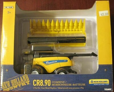 1/64 Ertl New Holland CT8.90 Combine with Heads
