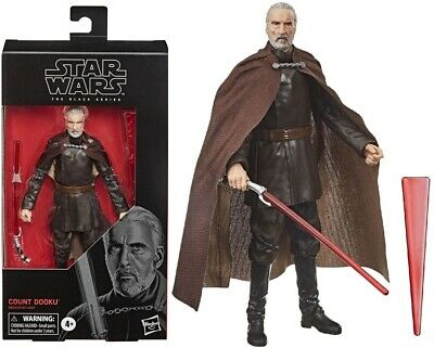 Star Wars The Black Series 6 Inch Action Figure - Count Dooku - NEW! BOXED!