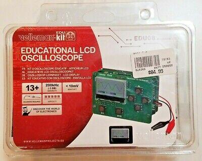 Velleman Educational Lcd Oscilloscope Edu08