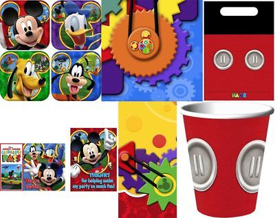 RARE MICKEY MOUSE PARTY SUPPLIES-YOU CHOOSE ITEMS-COMBINED SHIPPING - Mickey Mouse Items