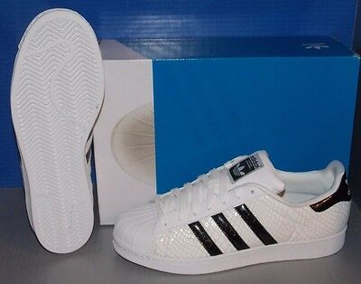 MENS ADIDAS SUPERSTAR in colors WHITE / BLACK / WHITE SIZE 12