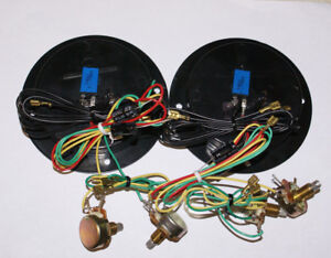 Speaker Terminal Cup PAIR 3-Way High pass Crossover w/1.75 Breaker Dual att.
