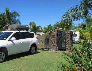 OZ Tent 3RV with annex Railway Estate Townsville City Preview