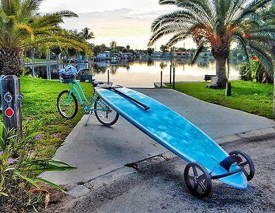 Standup paddle board carrier - Paddle Board Wheeled trolly SUP Wheels Evolution segunda mano  Embacar hacia Mexico