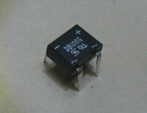Qty. 25 Sanken DB106G 1A 800V DIP4 Full Wave Bridge Rectifier