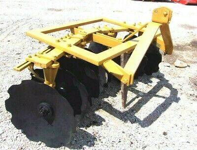 Used Athens 5.5 Ft.3 Pt. Lift Bog Disc Harrow Free 1000 Mile Shipping From Ky