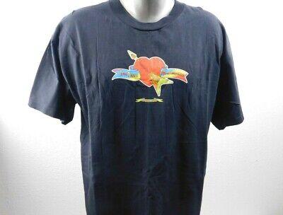 Tom Petty and the Hearbreakers Vtg T Shirt Mens Sz XL 1999 Black Bright Guitar