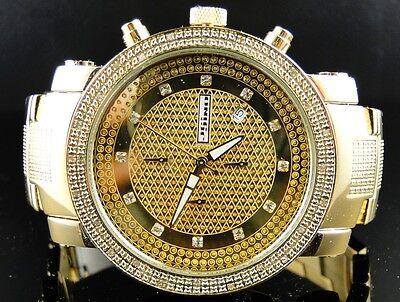 Herren Jojino / Joe Rodeo Aqua Master Metall Band Diamant Armbanduhr Mj-1103 (Jojino Uhren)