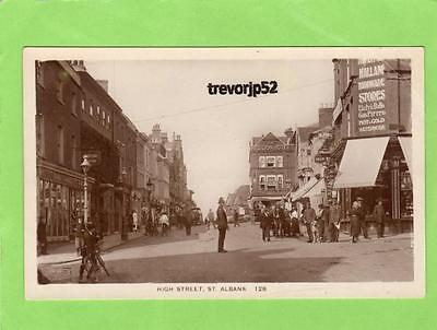 High Street   St Albans  Policeman unused RP pc Lilywhite Ref A758