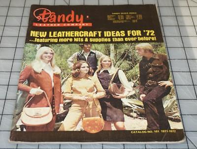Vintage 70's TANDY LEATHER Company Leathercraft Ideas Supplies Catalog No. 101 (Catalog Party Ideas)