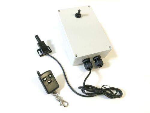 Long Range RF Remote 240VAC Capacitor Start AC Motor Reversing Control