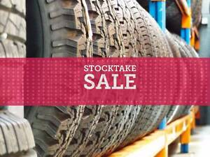 Clearance Sale on cheap used Bridgestone Falken Cooper BFG Tyres Ferntree Gully Knox Area Preview