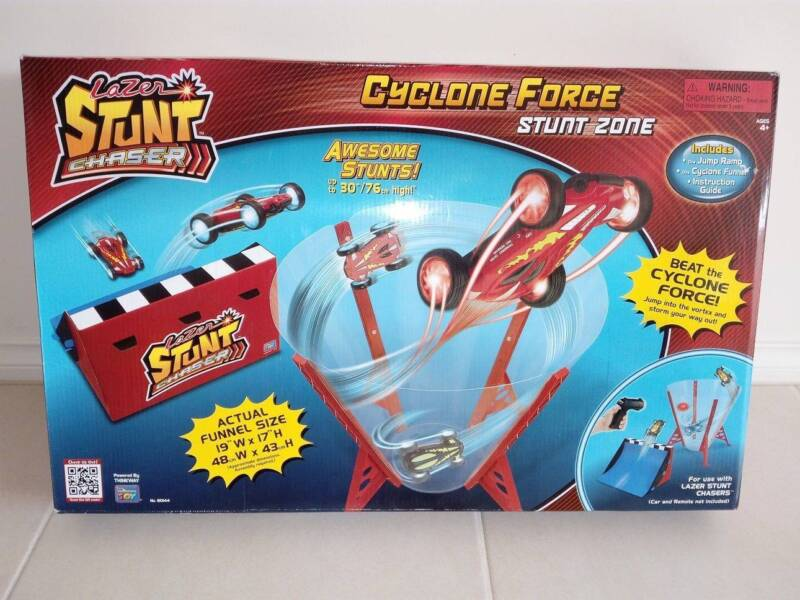 Remote Control Car - Lazer Stunt Chaser Flame Out Cyclone Dooms