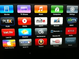 APPLE TV 2 UNTETHERED JAILBROKEN - BETTER THAN THE ONES BEING SOLD AT £289!