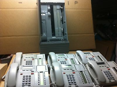 Nortel Norstar Mics Telephone System With T7316 Phones