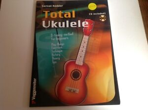 Gernot Rodder - Total Ukulele - CD included Thornlie Gosnells Area Preview