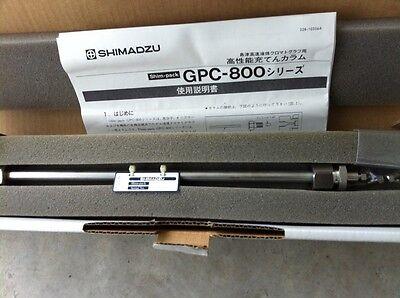 Shimadzu Lc Column Shim Pack Gpc-805 Pn228-20808-91 New