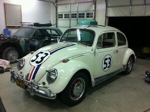 AUTH-HERBIE-THE-LOVE-BUG-DECAL-STICKER-KIT-ORIGINAL-Fast-shipping