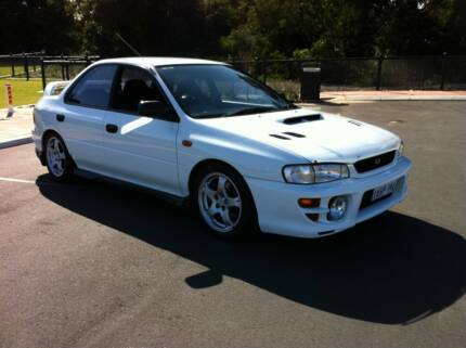 1998 Subaru WRX Sedan Dalyellup Capel Area Preview