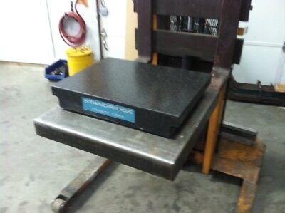 Standridge 2 Ledge Granite Surface Plate 18 X 24 X 4.125
