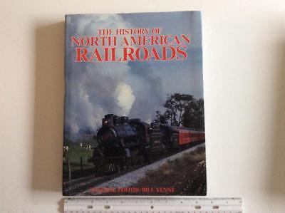 Railroad books  - History of North American Railroads    Hardcover 1986