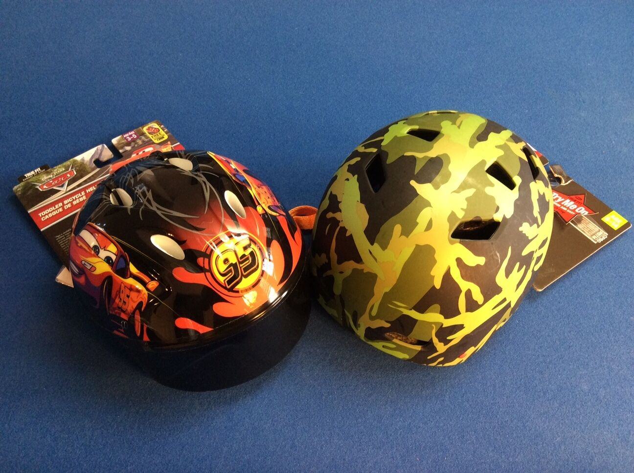 Bicycle helmet: Toddler Disney Cars age 3-5 or Youth multi s