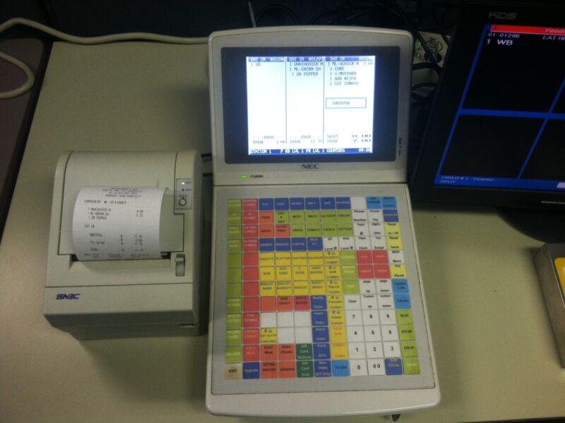 CRS / NEC 4000 terminal  Used