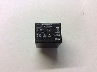 New Siemens T7cv5d-12 Electric Power Relay 12v 12a 120v 10a 240v 10a 28v 700514